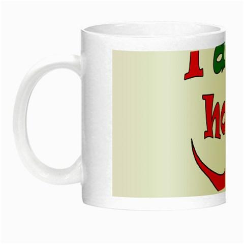 I am hot  Night Luminous Mugs