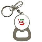 I am hot  Bottle Opener Key Chains Front