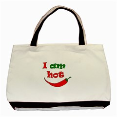 I Am Hot  Basic Tote Bag