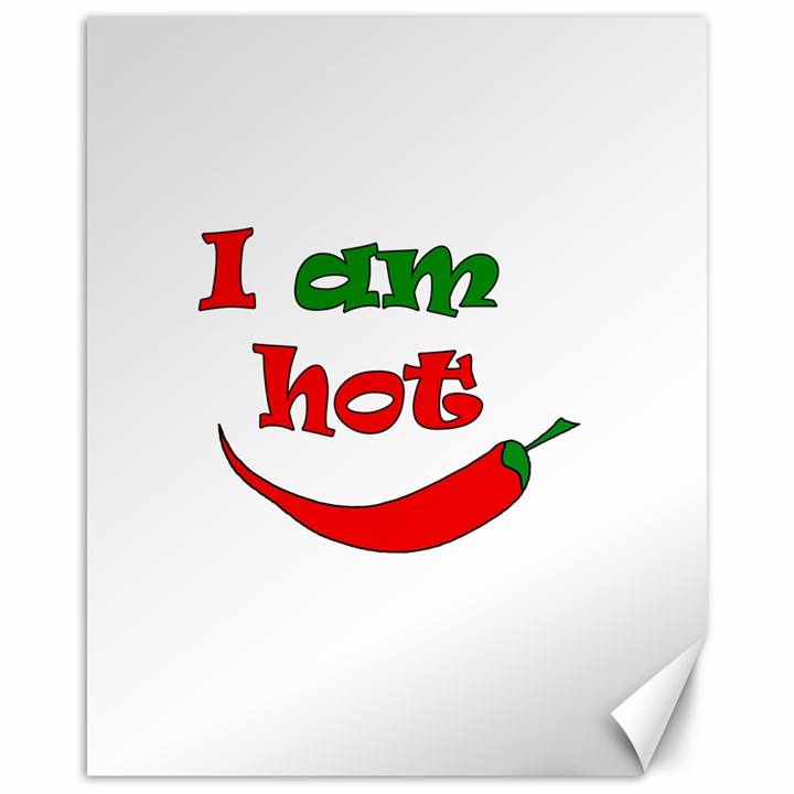 I am hot  Canvas 16  x 20