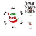 I am hot  Playing Cards 54 (Round)  Front - Spade10