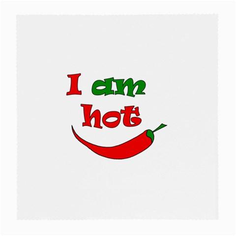 I am hot  Medium Glasses Cloth
