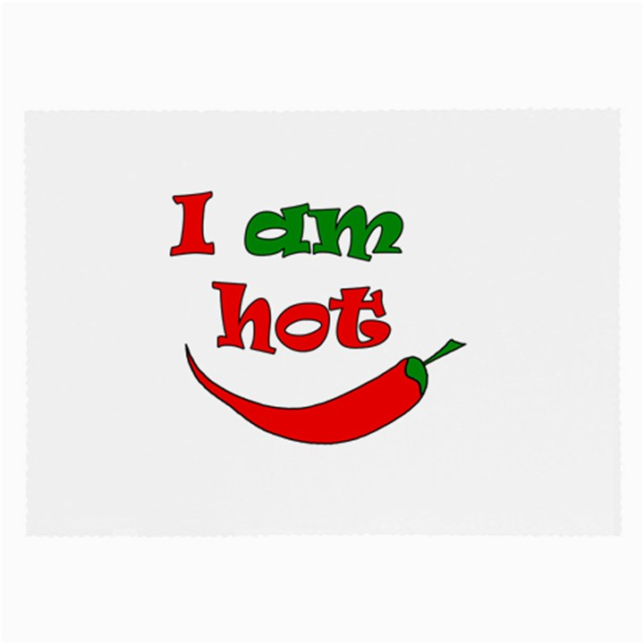 I am hot  Large Glasses Cloth (2-Side)