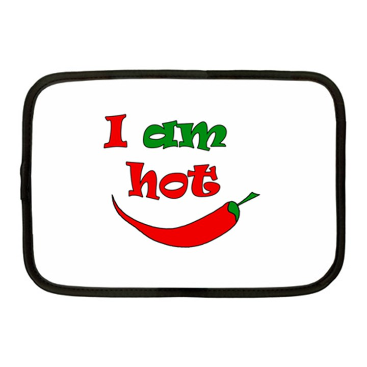 I am hot  Netbook Case (Medium)