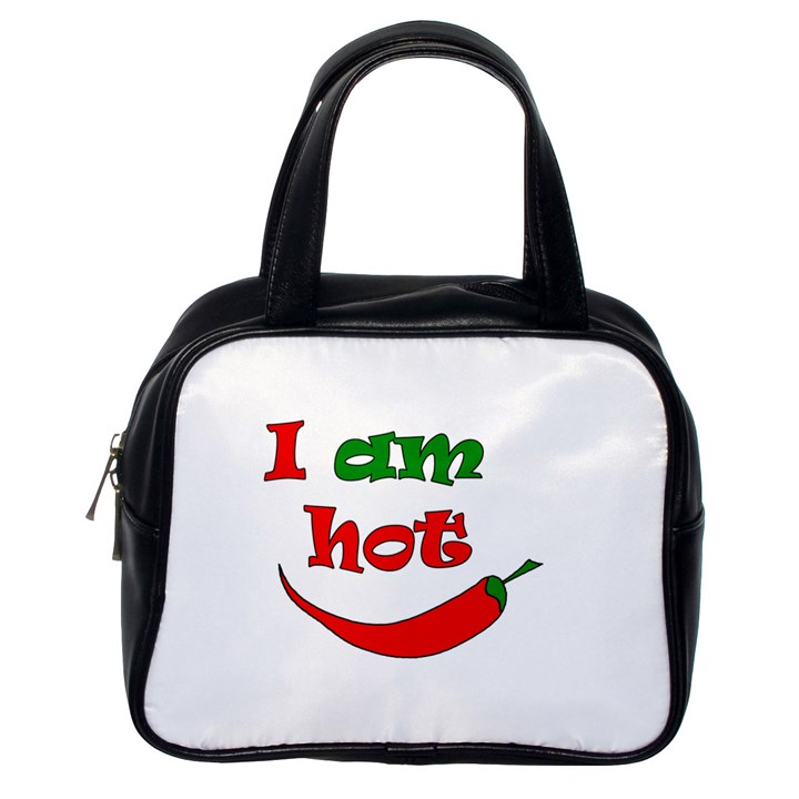 I am hot  Classic Handbags (One Side)
