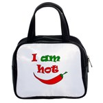 I am hot  Classic Handbags (2 Sides) Front