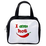 I am hot  Classic Handbags (2 Sides) Back