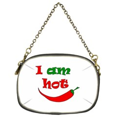I Am Hot  Chain Purses (one Side)