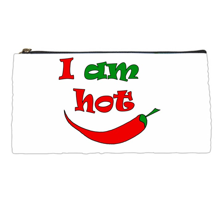 I am hot  Pencil Cases