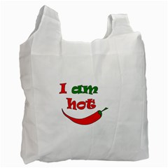 I Am Hot  Recycle Bag (two Side)