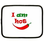 I am hot  Netbook Case (XL)  Front