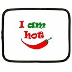 I am hot  Netbook Case (XXL)  Front