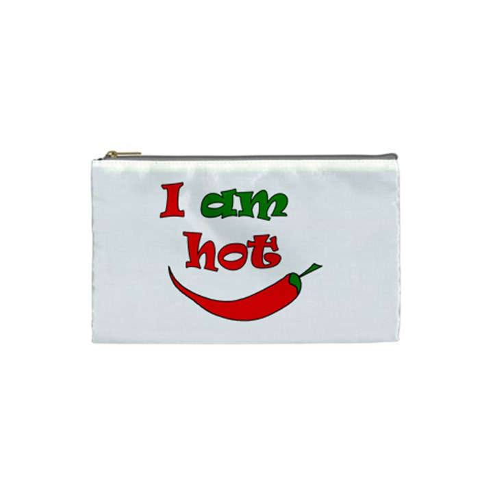 I am hot  Cosmetic Bag (Small)