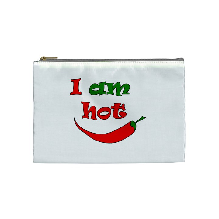 I am hot  Cosmetic Bag (Medium)