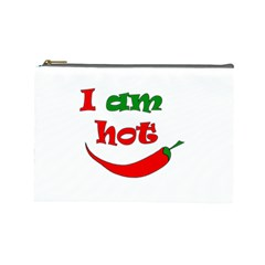 I am hot  Cosmetic Bag (Large)