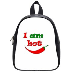 I Am Hot  School Bags (small)