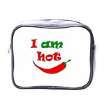 I am hot  Mini Toiletries Bags Front