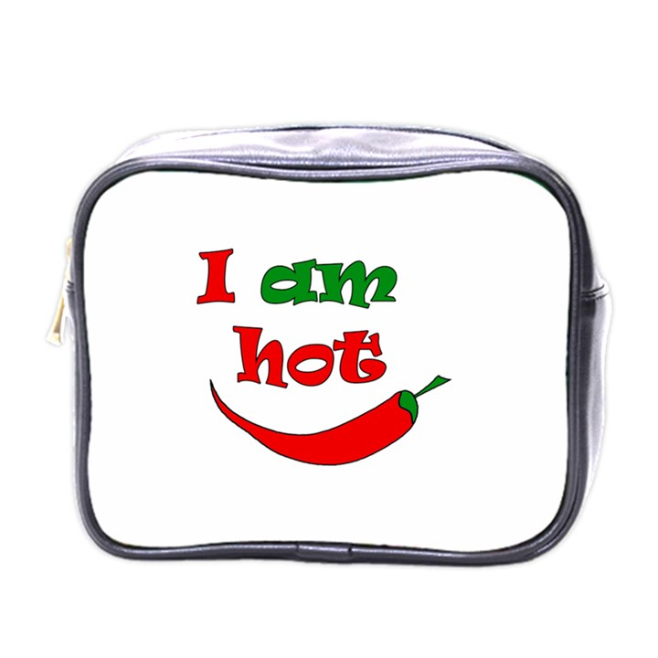 I am hot  Mini Toiletries Bags