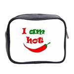 I am hot  Mini Toiletries Bag 2-Side Back