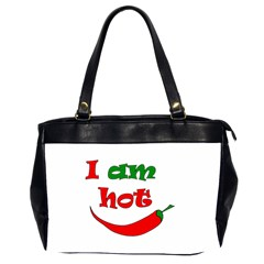 I Am Hot  Office Handbags (2 Sides)