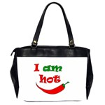 I am hot  Office Handbags (2 Sides)  Back