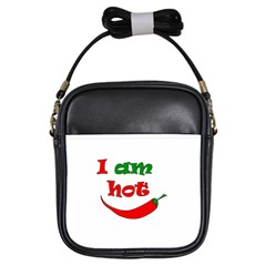 I Am Hot  Girls Sling Bags