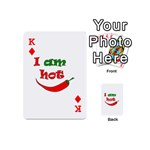 I am hot  Playing Cards 54 (Mini)  Front - DiamondK