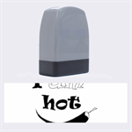 I am hot  Name Stamps 1.4 x0.5  Stamp