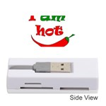 I am hot  Memory Card Reader (Stick)  Front