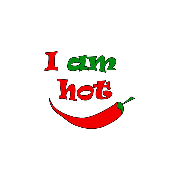 I am hot  YOU ARE INVITED 3D Greeting Card (8x4)