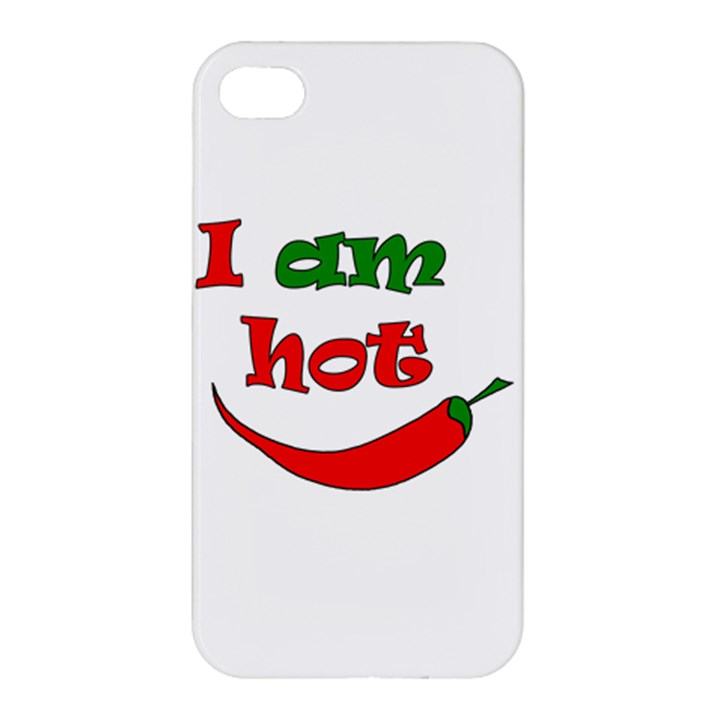 I am hot  Apple iPhone 4/4S Hardshell Case