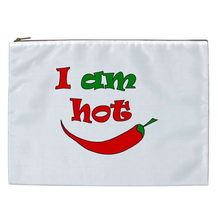 I am hot  Cosmetic Bag (XXL)