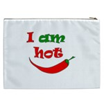 I am hot  Cosmetic Bag (XXL)  Back