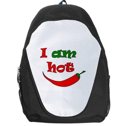 I am hot  Backpack Bag