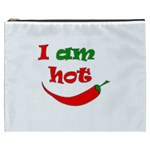 I am hot  Cosmetic Bag (XXXL)  Front