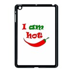 I am hot  Apple iPad Mini Case (Black) Front