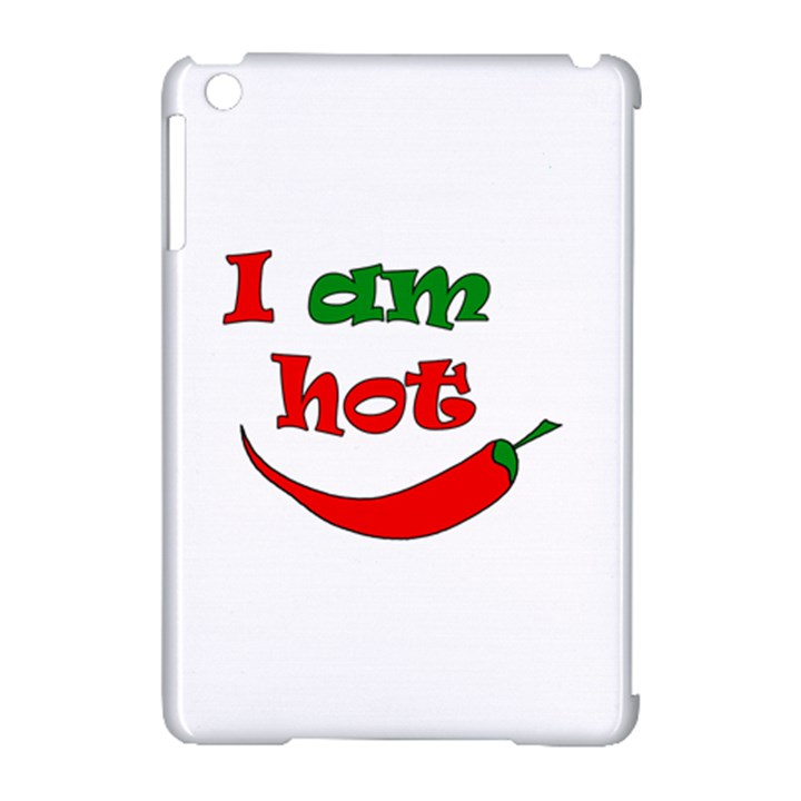 I am hot  Apple iPad Mini Hardshell Case (Compatible with Smart Cover)
