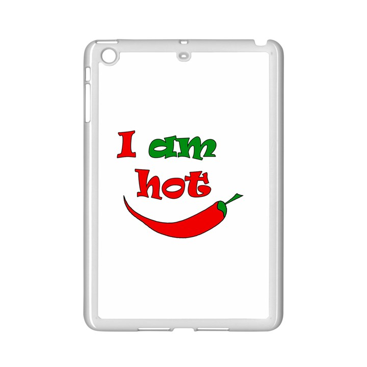 I am hot  iPad Mini 2 Enamel Coated Cases