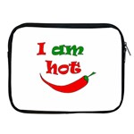 I am hot  Apple iPad 2/3/4 Zipper Cases Front