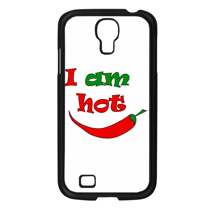 I am hot  Samsung Galaxy S4 I9500/ I9505 Case (Black)