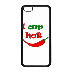 I Am Hot  Apple Iphone 5c Seamless Case (black)