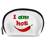 I am hot  Accessory Pouches (Large)  Front