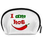 I am hot  Accessory Pouches (Large)  Back