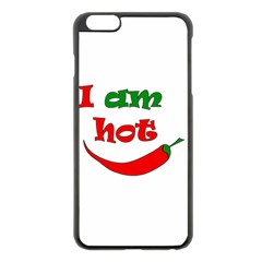 I am hot  Apple iPhone 6 Plus/6S Plus Black Enamel Case
