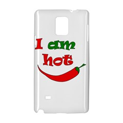 I am hot  Samsung Galaxy Note 4 Hardshell Case