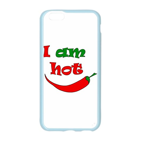 I am hot  Apple Seamless iPhone 6/6S Case (Color)