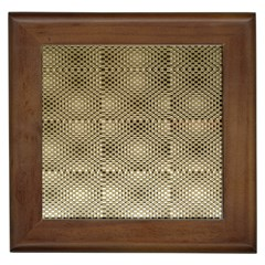 Fashion Style Glass Pattern Framed Tiles