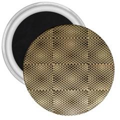 Fashion Style Glass Pattern 3  Magnets