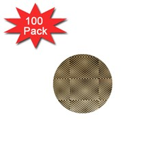 Fashion Style Glass Pattern 1  Mini Buttons (100 pack)