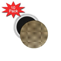 Fashion Style Glass Pattern 1.75  Magnets (10 pack)